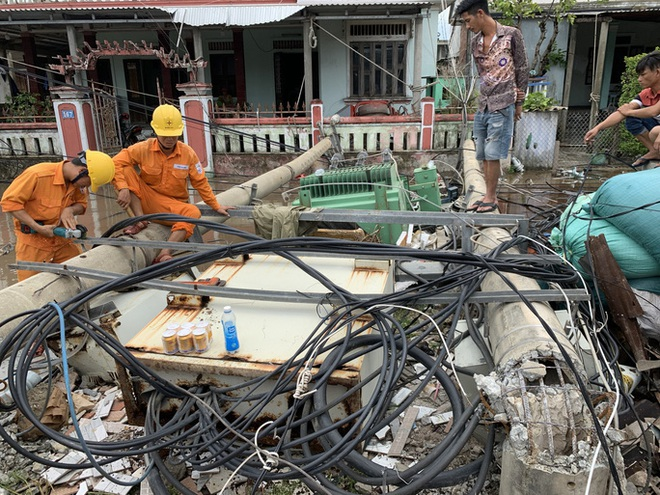 Bão số 5 gây thiệt hại nặng nề, 110 người bị thương, 22.562 ngôi nhà bị hư hỏng - ảnh 1
