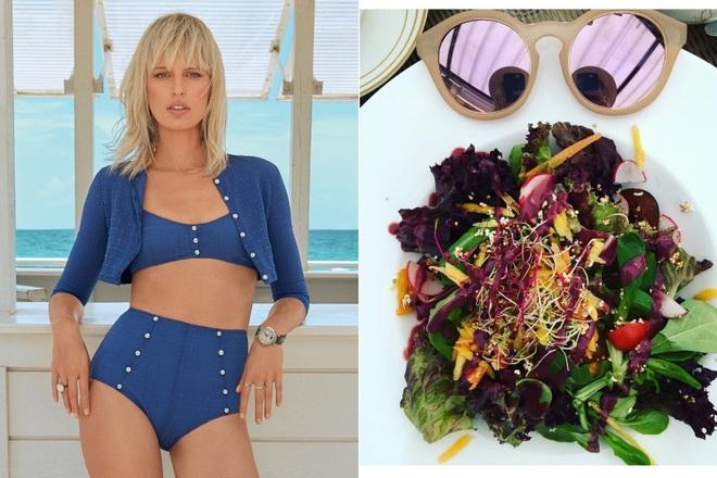 Để giảm cân hiệu quả và da dẻ hồng hào, bạn cứ học Miranda Kerr hay Kate Upton ăn salad mỗi ngày - ảnh 2