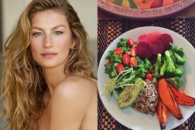 Để giảm cân hiệu quả và da dẻ hồng hào, bạn cứ học Miranda Kerr hay Kate Upton ăn salad mỗi ngày - ảnh 5