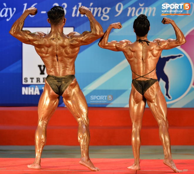 Búp bê cơ bắp Trần Ny Ny thắng tuyệt đối ở hạng 55 cân nữ giải thể hình các CLB toàn quốc - ảnh 6