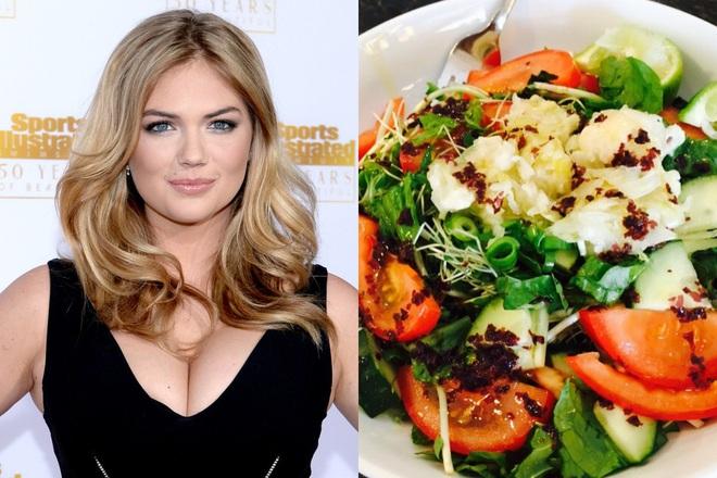 Để giảm cân hiệu quả và da dẻ hồng hào, bạn cứ học Miranda Kerr hay Kate Upton ăn salad mỗi ngày - ảnh 6