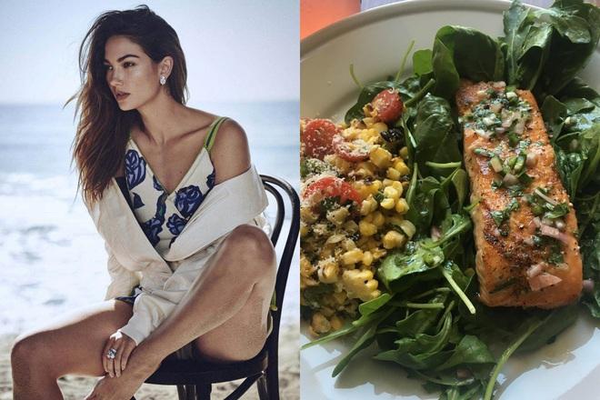 Để giảm cân hiệu quả và da dẻ hồng hào, bạn cứ học Miranda Kerr hay Kate Upton ăn salad mỗi ngày - ảnh 7