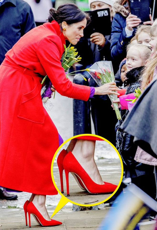 Đằng sau vẻ thanh lịch 100 điểm của Công nương Kate, Meghan là 7 bí mật thời trang khắt khe - ảnh 8