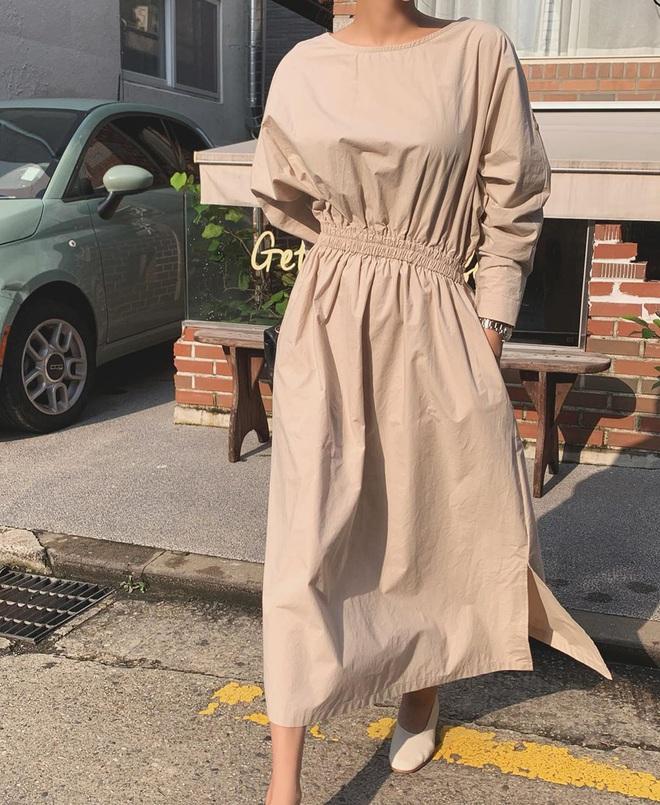 Đợt này đang có bao nhiêu váy dài tay xinh muốn xỉu, hội bánh bèo còn chờ gì mà không sắm để diện Thu - ảnh 3