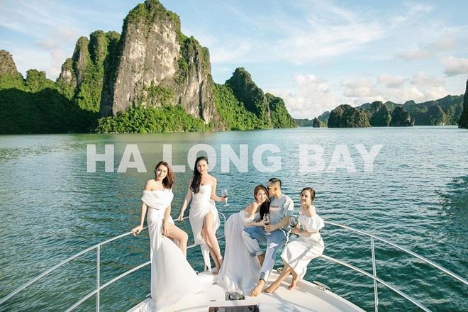 Dàn mỹ nhân mừng sinh nhật Ngọc Trinh khoe ảnh trên du thuyền cả rồi, giờ Thuý Kiều mới ra mặt đây! - ảnh 8