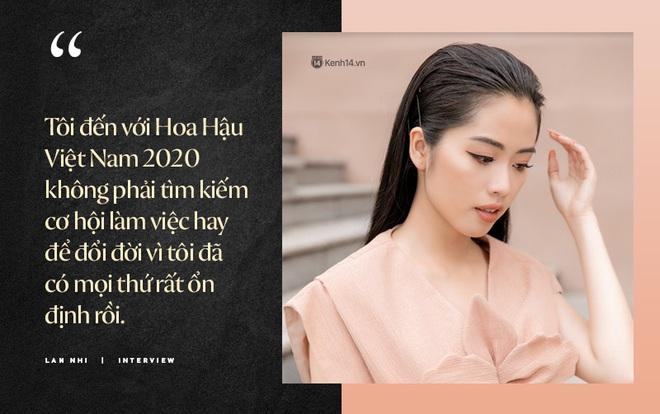 """Lan Nhi - BTV từng mang phim Việt đến Cannes dự thi Hoa Hậu Việt Nam 2020: """"Tôi không đi thi để đổi đời! - ảnh 3"""