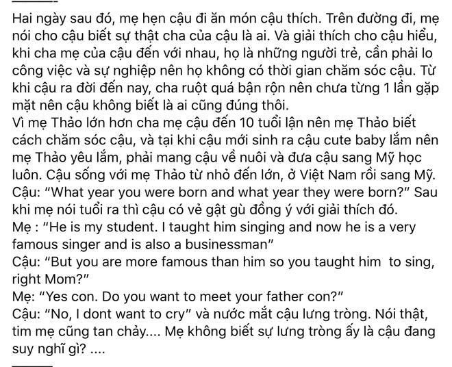 Sau status của Thanh Thảo về con trai, Ngô Kiến Huy có động thái đáng chú ý và được Ninh Dương Lan Ngọc vào động viên - ảnh 5