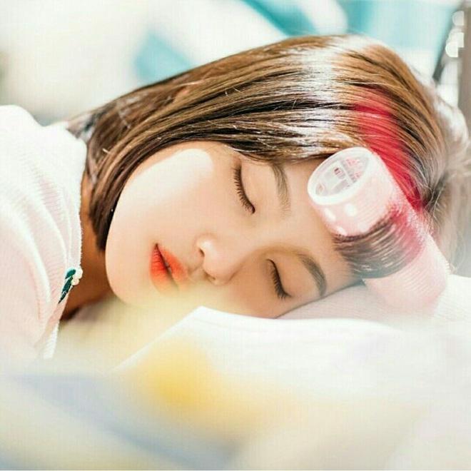 Idol Hàn chợp mắt với nguyên lớp makeup: Xem vừa thương vừa nhận ra toàn cực phẩm nhan sắc, đến ngủ cũng đẹp - ảnh 7