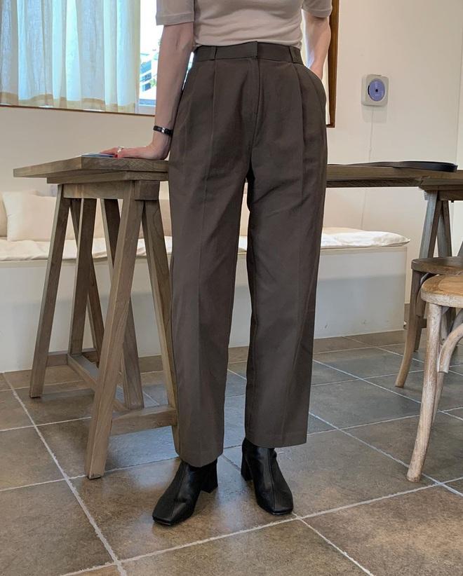 Mải diện quần đen, nhiều nàng không hề biết quần nâu cực sang và tây, không sắm là thiệt - ảnh 8