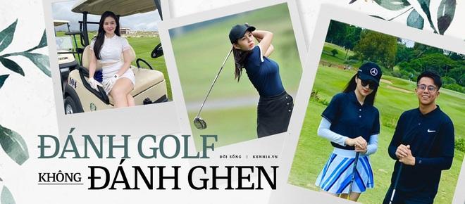 Cú đụng độ giữa Á hậu vs bạn gái thiếu gia ở sân golf, ai đẹp hơn hả các bạn? - ảnh 6