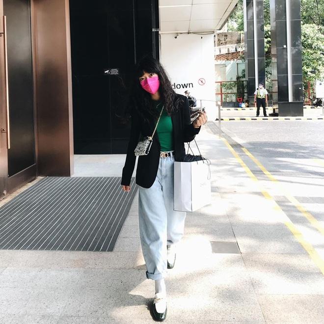"""Vợ Việt Max quá cool: Style cực """"swag"""" mà vẫn high fashion, diện đồ hiệu rất hay chứ không sến súa dù chỉ 1% - ảnh 6"""