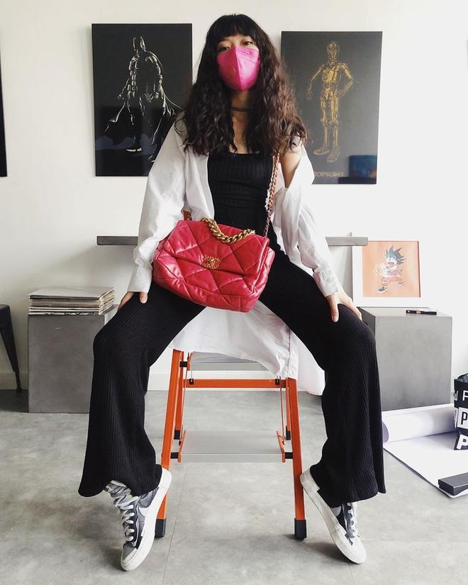 """Vợ Việt Max quá cool: Style cực """"swag"""" mà vẫn high fashion, diện đồ hiệu rất hay chứ không sến súa dù chỉ 1% - ảnh 4"""