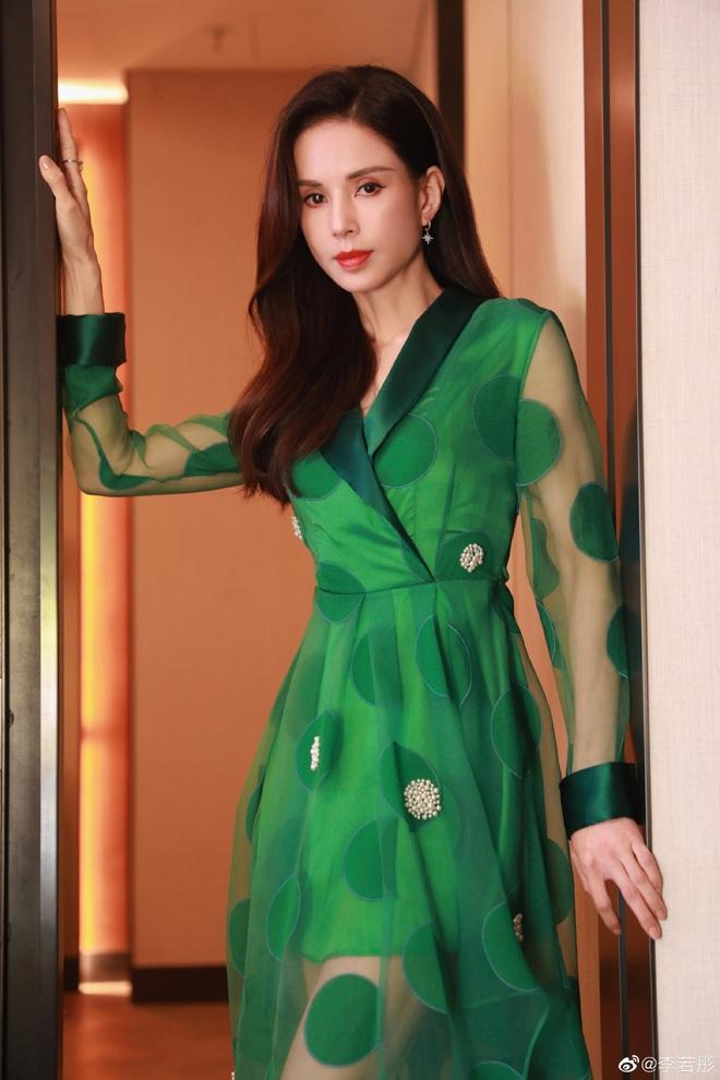 Weibo sốt xình xịch với body Tiểu Long Nữ Lý Nhược Đồng: Xuất sắc chẳng kém đàn em, ai bảo đây là mỹ nhân 54 tuổi? - ảnh 6