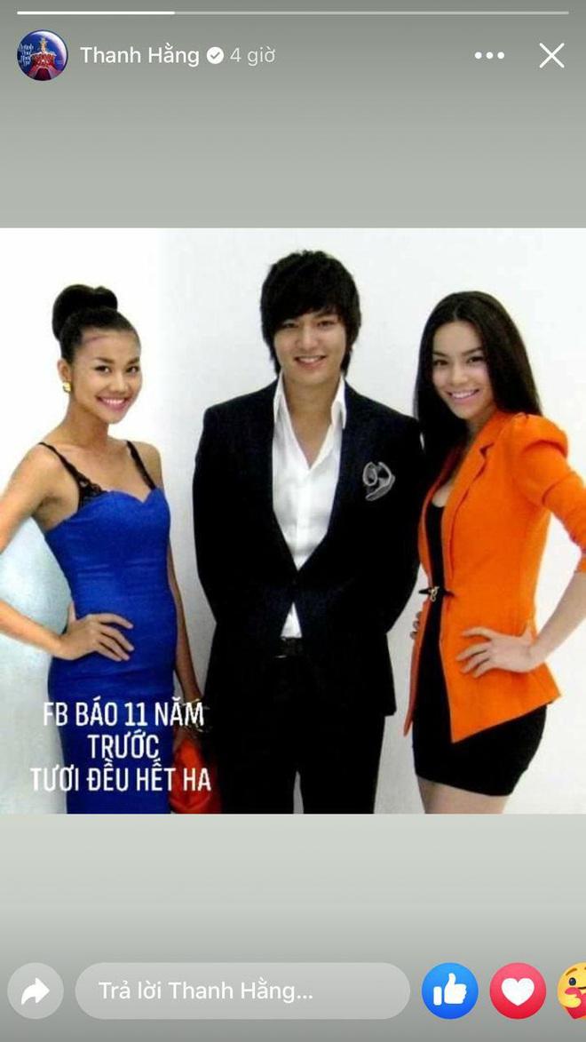 Thanh Hằng chia sẻ lại khoảnh khắc cùng Hà Hồ hội ngộ tài tử Lee Min Ho, nhan sắc bộ 3 thăng hạng rõ sau 11 năm! - ảnh 1