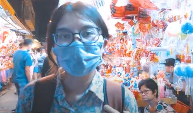Clip: Phố lồng đèn Sài Gòn vắng khách, tiểu thương chỉ bán được 50% so với mọi năm - ảnh 1