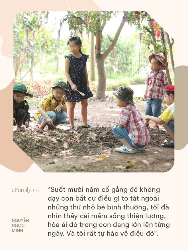 Giảng viên Đại học Sư Phạm Hà Nội: Suốt mười năm, tôi cố gắng để không dạy con bất cứ điều gì to tát ngoài những thứ nhỏ bé bình thường - ảnh 1