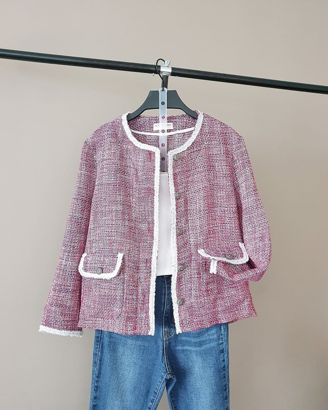 """Như """"thủ tục"""" không thể thiếu: Chuyển mùa là phải sắm tweed jacket, món đồ mặc vài năm cũng chẳng lỗi mốt - ảnh 3"""