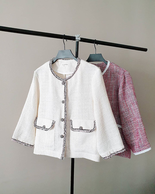 """Như """"thủ tục"""" không thể thiếu: Chuyển mùa là phải sắm tweed jacket, món đồ mặc vài năm cũng chẳng lỗi mốt - ảnh 4"""