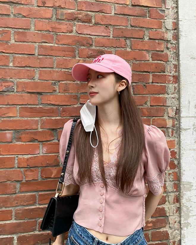 Loạt váy áo Zara, H&M sao Hàn diện đợt này: Đồ bình dân mà diện lên sang xịn như hàng hiệu - ảnh 3