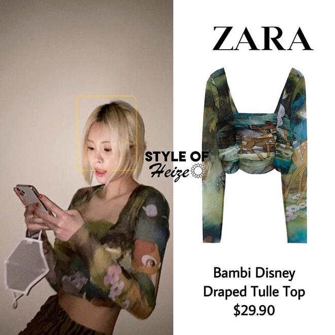 Loạt váy áo Zara, H&M sao Hàn diện đợt này: Đồ bình dân mà diện lên sang xịn như hàng hiệu - ảnh 13