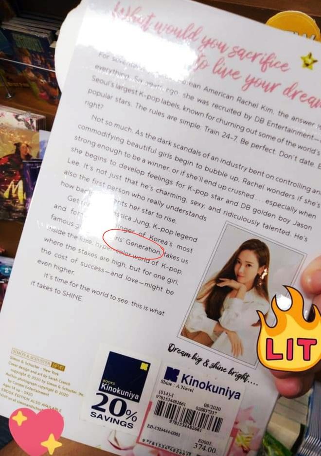 Hoãn tung tiểu thuyết, Jessica tuyên bố không phải cựu thành viên SNSD nhưng cớ sao 7749 lần để nhóm cũ làm cameo trên bìa sách? - ảnh 5