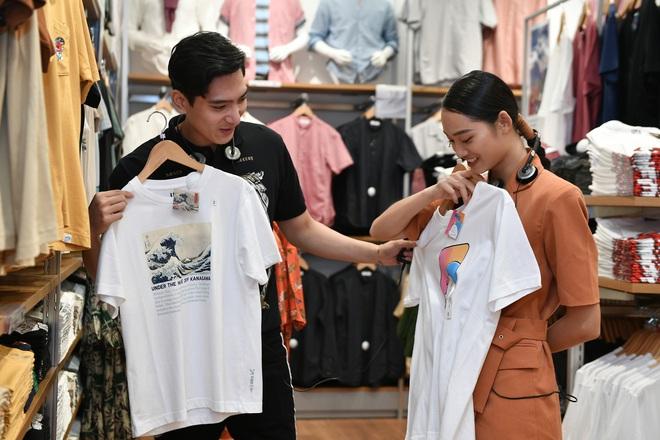 UNIQLO mở cửa hàng thứ 2 tại Hà Nội, Á hậu Huyền My chiếm spotlight trong sự kiện giới thiệu trước giờ G - ảnh 7