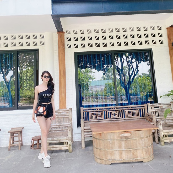 Xuất hiện thêm thí sinh Hoa hậu Việt Nam đáng gờm, là bạn gái cũ của một hot boy sân cỏ - ảnh 9