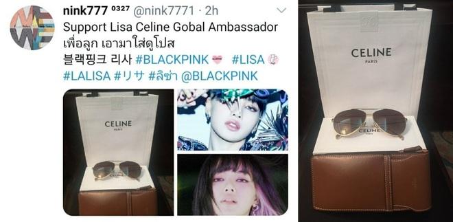 Nể fan của Lisa: Chốt đơn liên tục, mua cả tá đồ Celine mừng idol thành đại sứ toàn cầu - ảnh 11