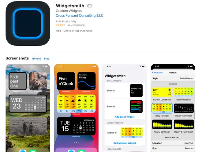 4 ứng dụng miễn phí giúp bạn tạo widget tuyệt đẹp trên iOS 14 - ảnh 1
