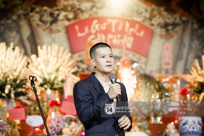 Dàn nghệ sĩ miền Bắc tề tựu tại lễ giỗ Tổ: Denis Đặng - Mạnh Quân nổi bần bật, Dương Hoàng Yến đầy tươi tắn - ảnh 2