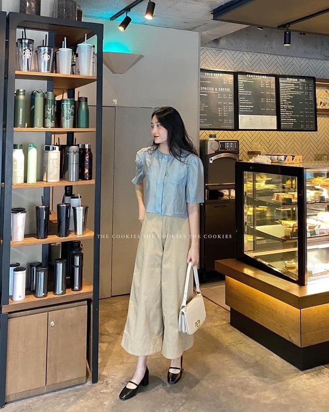 Item sắm mùa thu diện quanh năm chính là quần màu be: Đẹp mọi nơi mọi lúc, mix với áo gì cũng ok lah - ảnh 13