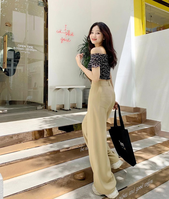 Item sắm mùa thu diện quanh năm chính là quần màu be: Đẹp mọi nơi mọi lúc, mix với áo gì cũng ok lah - ảnh 7