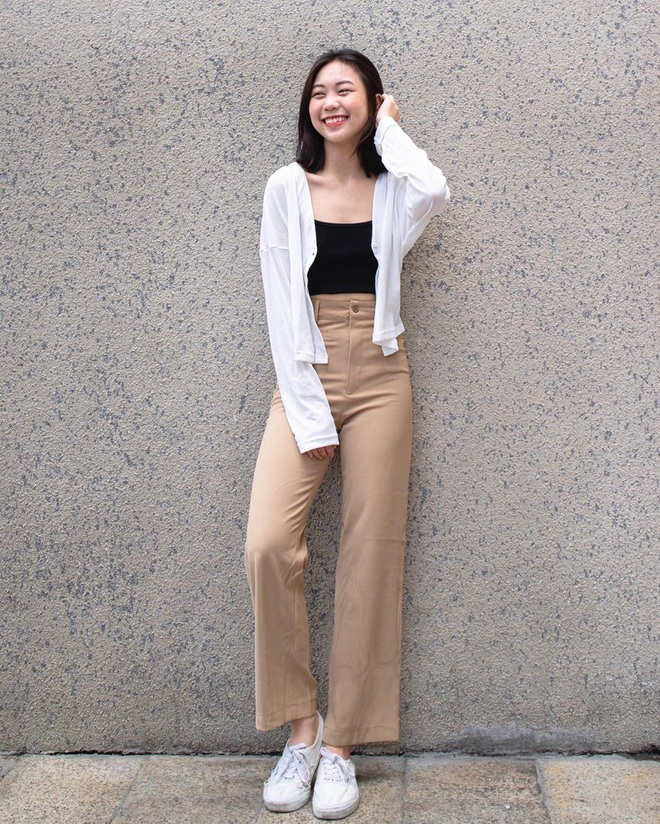 Item sắm mùa thu diện quanh năm chính là quần màu be: Đẹp mọi nơi mọi lúc, mix với áo gì cũng ok lah - ảnh 9