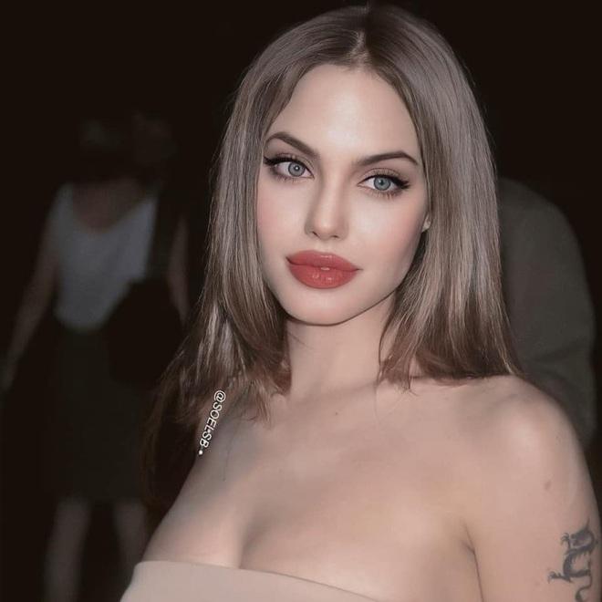 Dân tình đang náo loạn vì bộ ảnh Angelina Jolie ở thời kỳ đẹp nhất: Mặt như tạc, body ngộp thở, bảo sao Brad Pitt mê mệt - ảnh 1