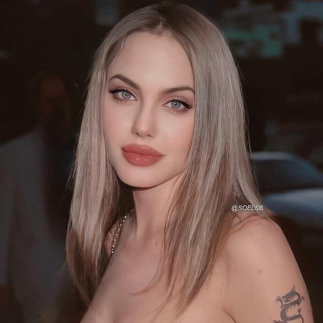 Dân tình đang náo loạn vì bộ ảnh Angelina Jolie ở thời kỳ đẹp nhất: Mặt như tạc, body ngộp thở, bảo sao Brad Pitt mê mệt - ảnh 2