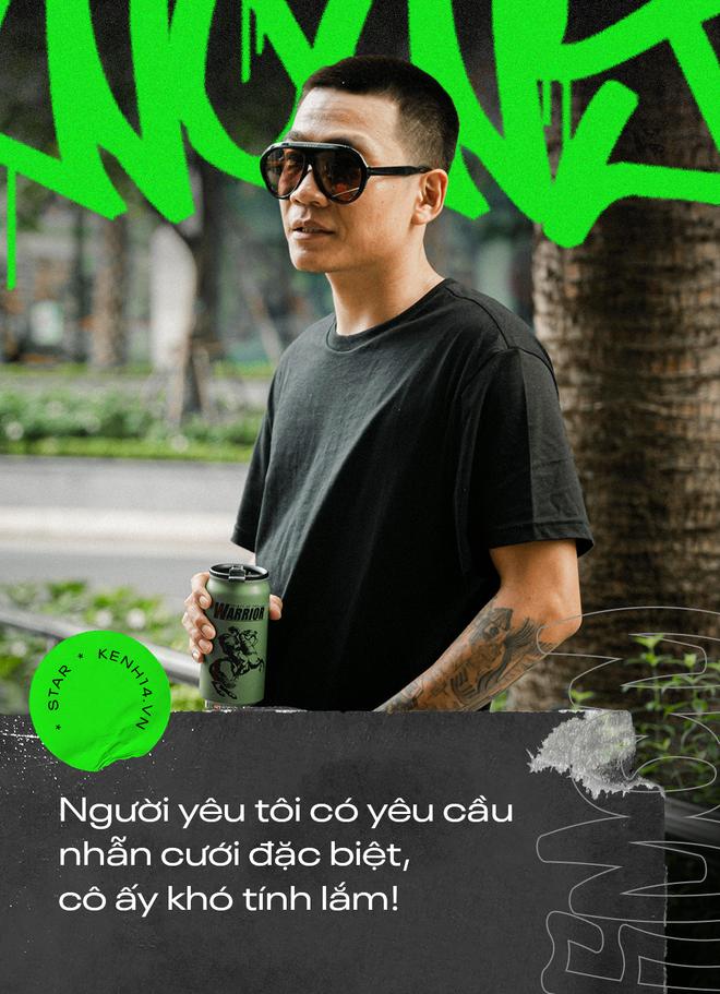 Wowy kể chuyện cưới hụt bạn gái và cột mốc đổi đời Rap Việt: Tôi cảm giác như đang đánh lại cái bóng của chính mình - ảnh 3