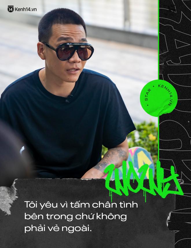 Wowy kể chuyện cưới hụt bạn gái và cột mốc đổi đời Rap Việt: Tôi cảm giác như đang đánh lại cái bóng của chính mình - ảnh 2