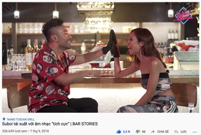 Rap Việt ngày càng hot, kéo theo lượt view tăng vọt của Bar Stories Wowy, Suboi - ảnh 3