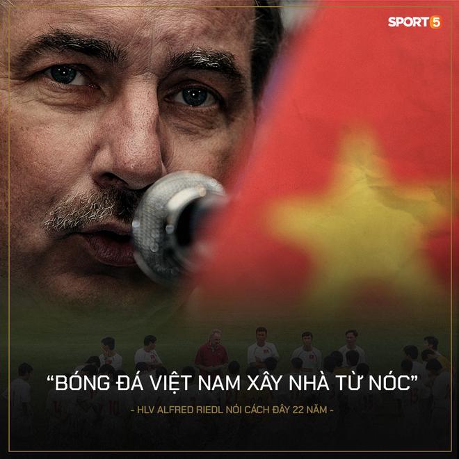 Nhìn lại những câu nói nổi tiếng của HLV Alfred Riedl, nhớ mãi lời nhận xét từ 22 năm trước: Bóng đá Việt Nam xây nhà từ nóc - ảnh 5