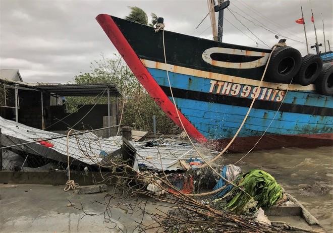 Thông tin về thiệt hại ban đầu do bão số 13 gây ra tại miền Trung