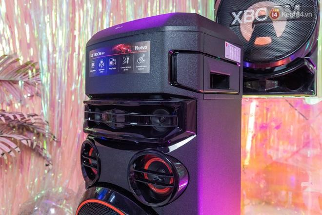 Trải nghiệm loa Bluetooth LG XBOOM RN5/ RN7: Nhìn ngoại hình cứ tưởng loa kẹo kéo, nhưng bên trong là hồn cốt Rap Việt - ảnh 9