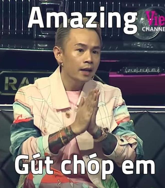 """Binz nhờ gửi lời hỏi thăm MC Lại Văn Sâm, Rhymastic liền cà khịa: """"Ơ mây zing, gút chóp anh!"""" - Ảnh 5."""