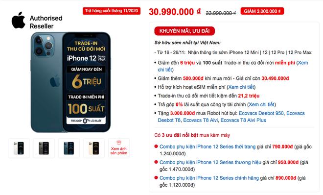 Năm nay, mua iPhone 12 chính hãng ở đâu để có giá rẻ nhất? - ảnh 4