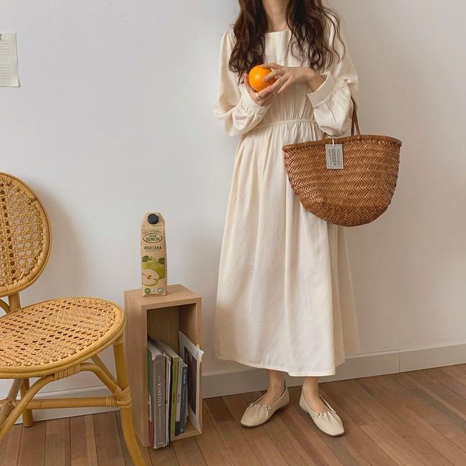 Những set đồ màu trà sữa đang được gái Hàn chưng diện ồ ạt, bạn nên bắt chước theo ngay - Ảnh 5.