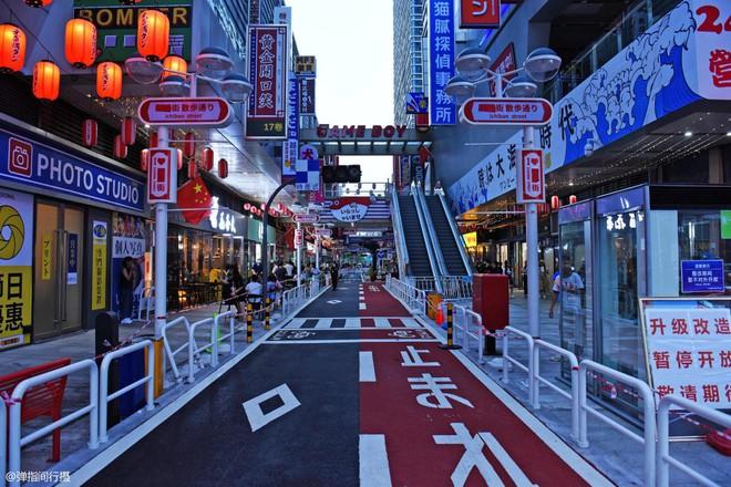 Bị phản đối rần rần, phố Nhật Bản pha-ke ở Trung Quốc lặng lẽ đóng cửa sau 2 tháng trở thành tụ điểm sống ảo của giới trẻ - ảnh 1