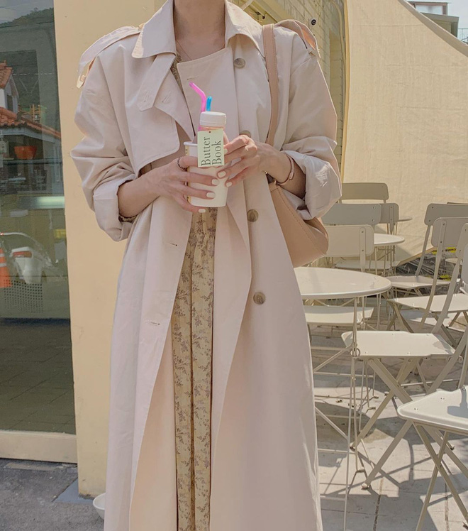 Những set đồ màu trà sữa đang được gái Hàn chưng diện ồ ạt, bạn nên bắt chước theo ngay - Ảnh 2.