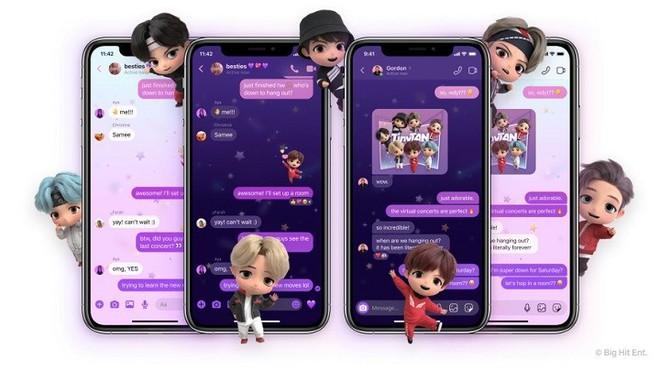 Messenger có theme BTS mới cực xịn sò, ARMY đã thử chưa? - ảnh 2