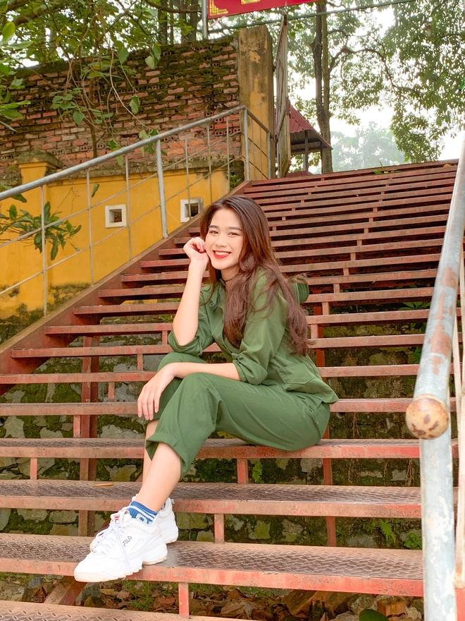 Tân Hoa hậu Việt Nam Đỗ Hà gây sốt với ảnh học quân sự xinh hết phần thiên hạ - ảnh 8