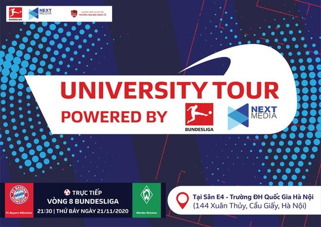 Đại học Kinh tế - ĐHQG Hà Nội: Điểm dừng chân đầu tiên của sự kiện Bundesliga University Tour - ảnh 1