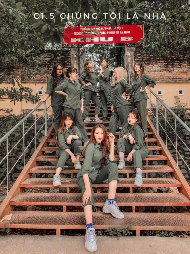 Tân Hoa hậu Việt Nam Đỗ Hà gây sốt với ảnh học quân sự xinh hết phần thiên hạ - ảnh 5